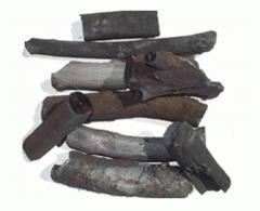 Древесный уголь - топливо для приготовления