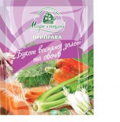 Букет весенней зелени и овощей 30 гр