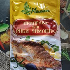 """Приправа для рыбы лимонная 30 гр """"Мелиса"""""""