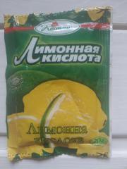 """Кислота лимонная """" Пикантная кухня"""" 20"""