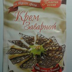 Крем заварной со вкусом ореха 80 гр