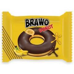 "Донат ""Bravo"" банан 50 гр 24 шт"
