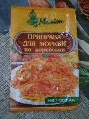 Приправа для морковки по корейски не острая 30 гр