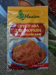 Приправа для морковки по корейски острая 30 гр