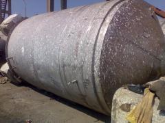 Capacity corrosion-proof on 22m.kub....