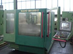 The processing MAHO MH 600 center