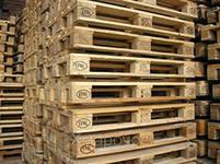 Грузовые деревянные поддоны под кирпич