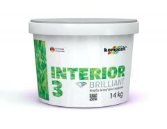 Краска интерьерная INTERIOR 3 Latex