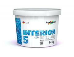 Краска интерьерная INTERIOR 5 Latex