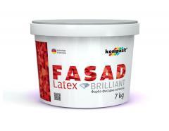Краска фасадная FASAD Latex