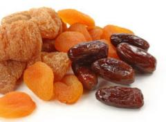 Abricots secs Jumbo, dattes, figues