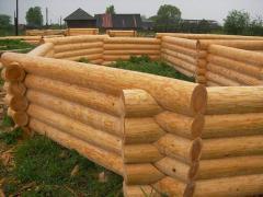 Дома срубы деревяные, купить, киевская область