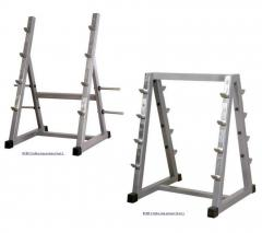 Rack under bars, InterAtletikGym, BT405/407, racks