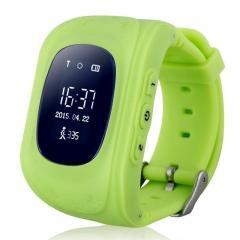 Детские умные часы Q50 с GPS трекером и...