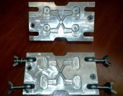 Compression molds for hot stamping