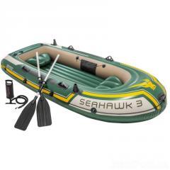 Трехместная надувная лодка Intex 68380...