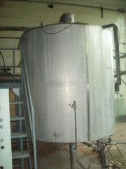 The tank - a thermos corrosion-proof 15m.kub.