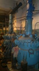 The reactor enameled 1,6m.kub.