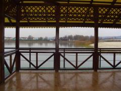 Platform summer wooden