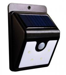 Уличный LED светильник с датчиком движения на
