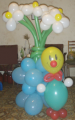 Flowers from balloons