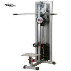 The exercise machine cargo block for gluteuses,
