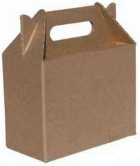 Corrugated packaging of the difficult configuration