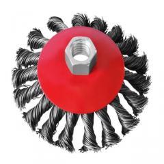 Щётка 4125 торцевая витая на болгарку (УШМ) 125 мм