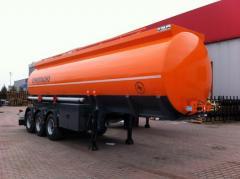Semi-trailers fuel trucks, new, Turkey