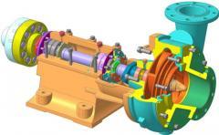 Насос ШН 250-34 (ШН 270-40) и его модификации