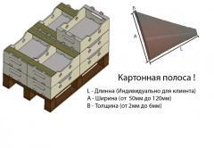 Склеенная  картонная полоса