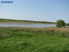 Site on the bank of the Berdyansk reservoir,
