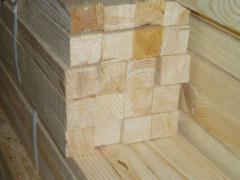 Bar, pine. The bar is construction.