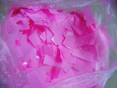Confetti metafan pink