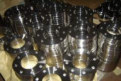 The flange is corrosion-proof flat, vorotnikovy