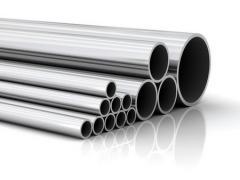 Трубы круглые стальные  электросварные