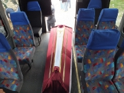Buses, funeral coaches, funeral cars