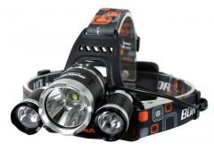 Налобный фонарь Lamp Dual Light Source RJ-2800