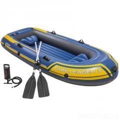 Трехместная надувная лодка Intex 68370...