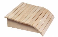 Подголовник деревянный для сауны,  бани...