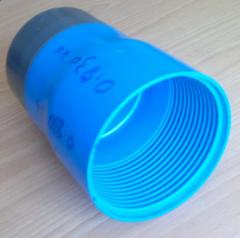 Cap on a pipe for wells of 125 and 140 of mm of