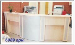Ресепшн-столы // Продажа/изготовление мебели по