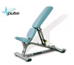 The bench is sports, Pulsefitness, the equipment