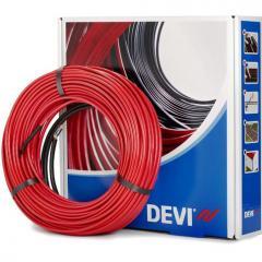 Теплый пол Devi двухжильный нагревательный кабель