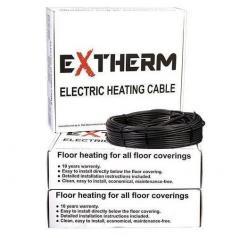 Теплый пол Extherm двужильный нагревательный
