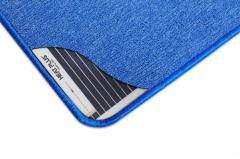 Греющий коврик SolRay 1030мм х 830 мм (синий)