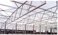 Canopies are industrial. Construction of the