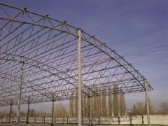 Canopies are various. Construction of the