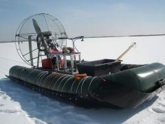 Аэролодки для катания на льду, аэролодки по