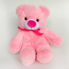 Плюшевый медвежонок Малыш,  40 см Розовый